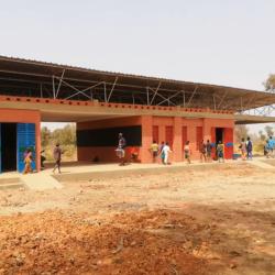 Schule in Burkina Fazo