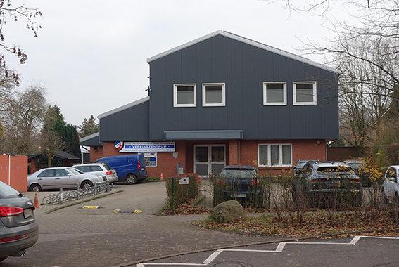 Vereinshaus dex TuS Sasel