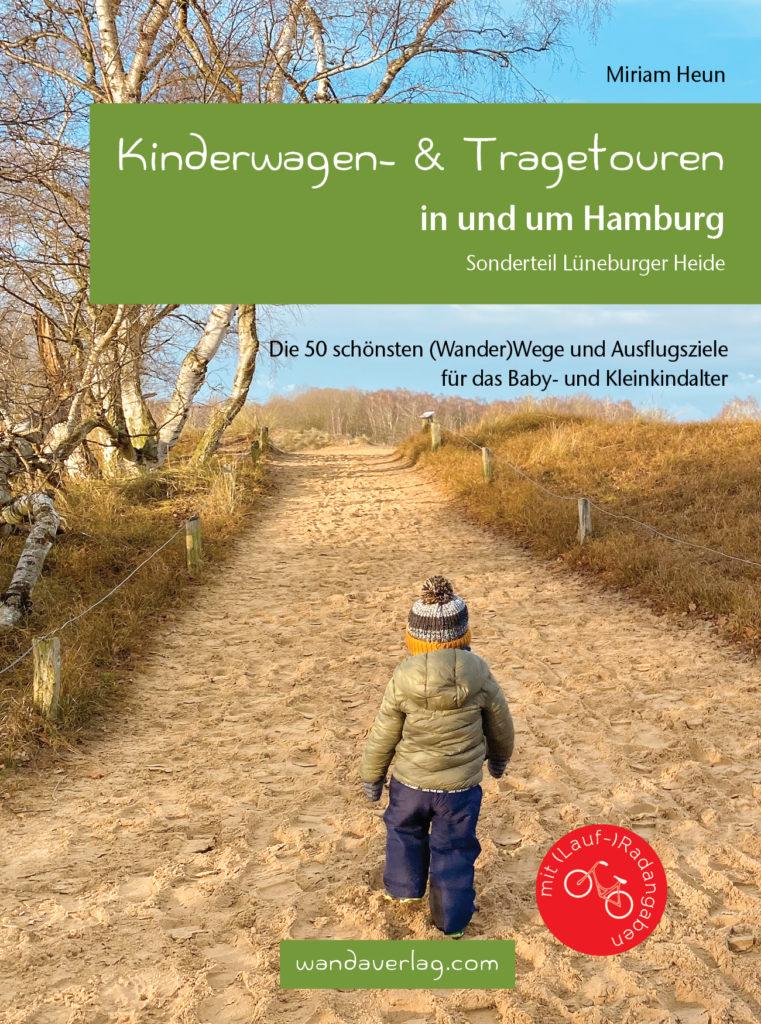 Im praktischen DIN-A6-Format – Miriam Heuns Kinderwagenführer. Cover: Wanda-Verlag