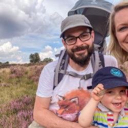 Ausflug in die Lüneburger Heide – Familie Heun auf Entdeckertour. Foto: Miriam Heun