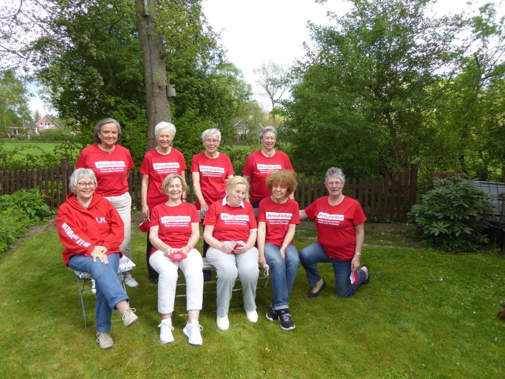 Wie einst beim FC St. Pauli: Der TSC Wellingsbüttel verkauft derzeit Treue-T-Shirts an Förderer und Mitglieder.