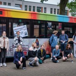 Stadtteilschule Bergstedt Paint-Bus