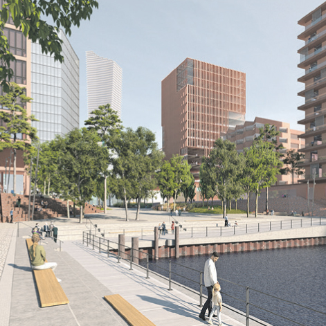 HafenCity Amerigo Vespucci Platz