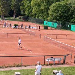 Die WTHC-Tennisanlage an der Farmsener Landstraße