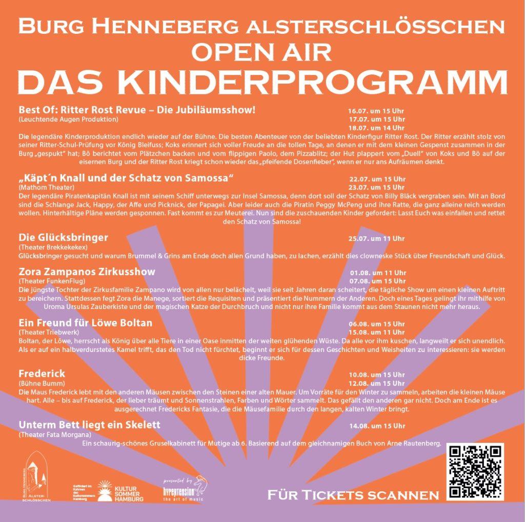 Kinderprogramm Burg Henneberg
