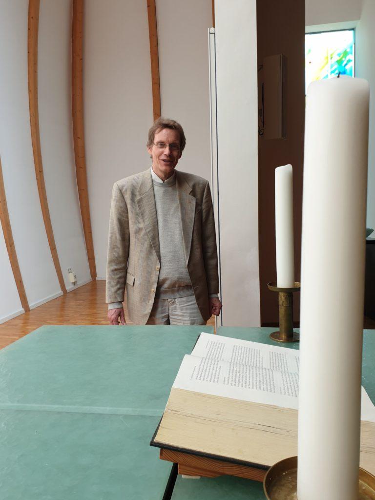 Pastor Ralf Weisswange