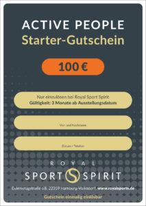 Gutschein von Royal Sports Spirit in Volksdorf
