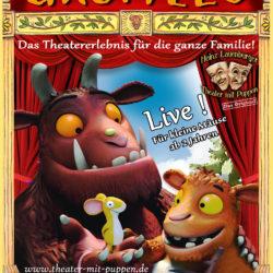 Grüffelo im Theater mit Puppen