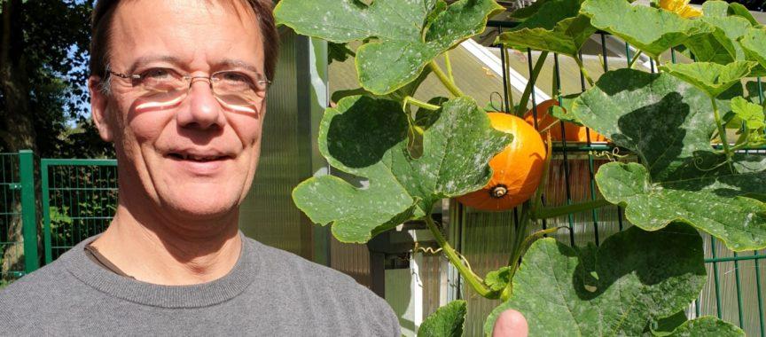 Selbstversorger Axel Bauermann aus Volksdorf