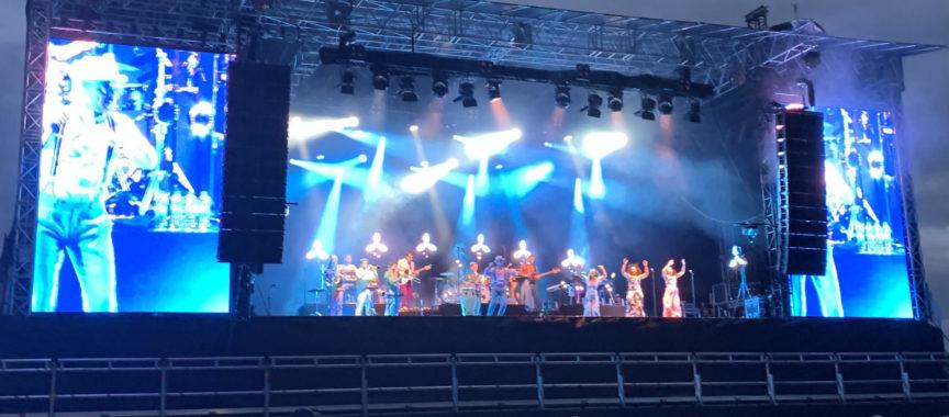 Jan Delay auf der Bühne