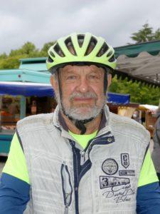 Stephan Kappner mit Fahrrad