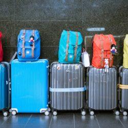 Koffer und Rucksäcke