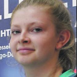 Neue Hamburger Meisterin: Anna Tietgens (re.) vom SC Poppenbüttel.