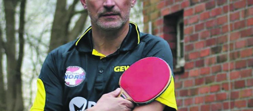Erfolgreicher Tischtennis-Spieler: Der Lemsahler Maik Glühmann