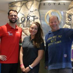 Armin Schwencke mit Jenna Plantikow und Oliver Hofstätter im Royal Sports Spirit in Volksdorf